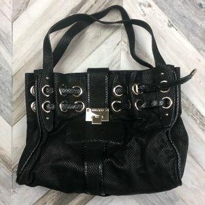 Authentic Jimmy Choo Ramona Bag Black Embossed